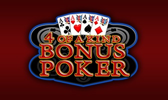 EGT - 4 of a kind bonus poker