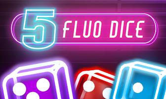 Fazi - 5 Fluo Dice