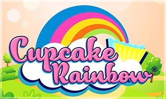 Cupcake Rainbow DiceCascade