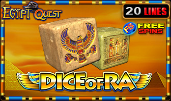 EGT - Dice of Ra Egypt Quest